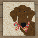 Additional Images for Dachshund Precut Fused Appliqué Kit