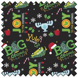 """Christmas Vacation Big Christmas - BLACK - 44"""" x 13.7 M"""