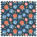 """Additional Images for Badges - NAVY - 44"""" x 13.7 M"""