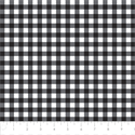 "Additional Images for Gingham - BLACK - 44"" x 13.7 M"