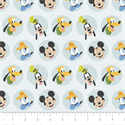 """Additional Images for Mickey Mouse Best Pals - WHITE - 44"""" x 13.7 M"""