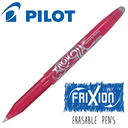 Frixion Pen Fine Point (.7 mm) Heat Erase - PINK