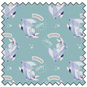 "Additional Images for Eeyore Choose Happy - BLUE - 44"" x 13.7 M"