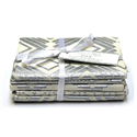 Additional Images for Silver Metallic - Fat Quarter Bundle (5)
