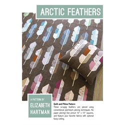 Artic Feathers Pattern