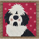 Additional Images for Sheepdog Precut Fused Appliqué Kit
