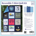 Additional Images for Reversible T-Shirts Quilt Kit -- NAVY