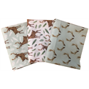 Additional Images for Winter Woods - ANIMALS - Fat Quarter Bundle (3)