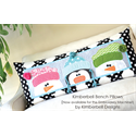 Additional Images for Whimsy Winter - Bench Pillow Machine Embroidery CD