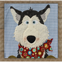 Additional Images for Husky Precut Fused Appliqué Kit