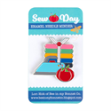 Additional Images for Sew Day Enamel Needle Minder
