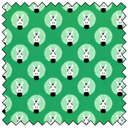 "Peek-A-Boo Zebra Wreaths - SEAFOAM -  44"" x 13.7 M"