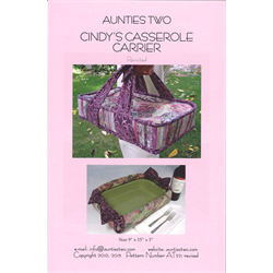 Cindy's Casserole Carrier Pattern - Revisited