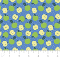 """Additional Images for Apples - BLUE - 44"""" x 13.7 M"""