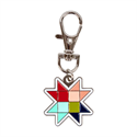 Additional Images for Beehive Star Enamel Charm