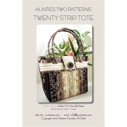 Twenty Strip Totes Pattern