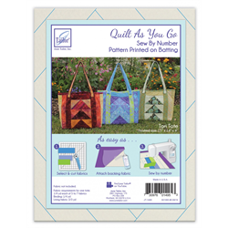 Quilt As You Go - TORI TOTE