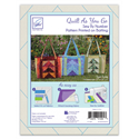 Additional Images for Quilt As You Go - TORI TOTE