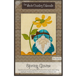Spring Gnome Precut Fused Appliqué Kit