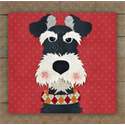 Additional Images for Schnauzer 2 Precut Fused Appliqué Kit