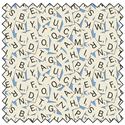 """Additional Images for Scrabble Tile Toss - MULTI - 44"""" x 13.7 M"""