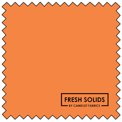 "Fresh Solids - ORANGE SODA - 44"" x 13.7 M"