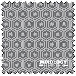 "Honeycomb - IRON - 44"" x 13.7 M"