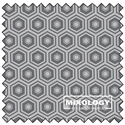 "Additional Images for Honeycomb - IRON - 44"" x 13.7 M"