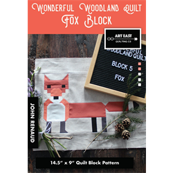 Wonderful Woodland Quilt - FOX BLOCK