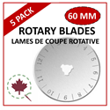Additional Images for 60mm Rotary Blade - 5 PACK