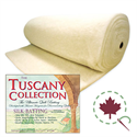 "Tuscany Silk Batting - ROLL - 96"" x 30 YDS"