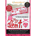 Additional Images for Be My Valentine - Bench Pillow Machine Embroidery CD