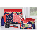 Additional Images for Zippity-Do-Done Cosmetic Bag - RED ZIPPER