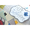 Additional Images for Home Sweet Home - Bench Pillow Machine Embroidery CD