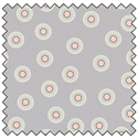 "Flower Dots - GREY - 44"" x 10 M"