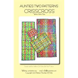 Crisscross Woven Fabric Mats Pattern