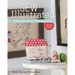 Sew Illustrated - 35 Charming Fabric & Thread Designs*