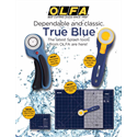 Additional Images for OLFA Splash 45mm Ergonomic Rotary Cutter - NAVY