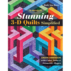 Stunning 3-D Quilts Simplified+