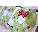 Additional Images for Deck the Halls - Bench Pillow Machine Embroidery CD