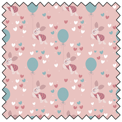 "Piglet Balloon - PINK - 44"" x 13.7 M"