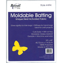 """Additional Images for Moldable Heat Activated Batting - WHITE - 18"""" x 45"""""""
