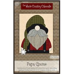Papa Gnome Precut Fused Appliqué Kit