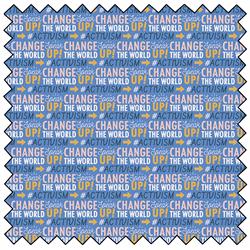 """Activism - BLUE - 44"""" x 13.7 M"""