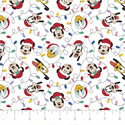 "Additional Images for Mickey Mouse Festive Lights - WHITE - 44"" x 13.7 M"