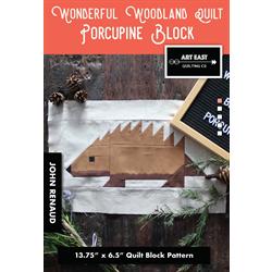 Wonderful Woodland Quilt - PORCUPINE BLOCK