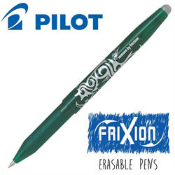 Frixion Pen Fine Point (.7 mm) Heat Erase - GREEN
