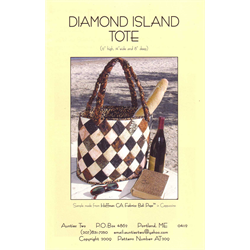 Diamond Island Tote Pattern