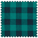 "Additional Images for Lumberjack Flannel - TEAL/BLACK - 60"" x 15 M"