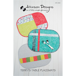 Terry's Table Placemats Pattern